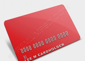 Blank Credit Card Template – PSD Download