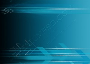 Blue Tech Background – PSD Download