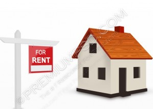 House For Rent Icon – PSD Download
