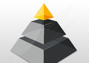 Modern Pyramid Design – PSD Download