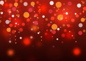 Red Blurry Lights Background – PSD Download