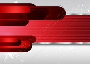 Red Tech Background – PSD Download