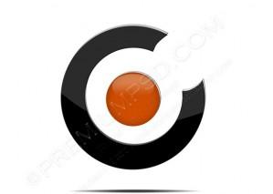 Round Company Logo – PSD Download