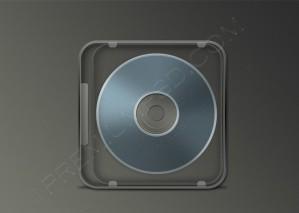 Transparent Cd Box Template – PSD Download