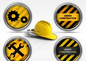 Under Construction Icons – PSD Download