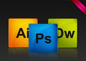 Adobe CS4 Glossy Icons – PSD Download
