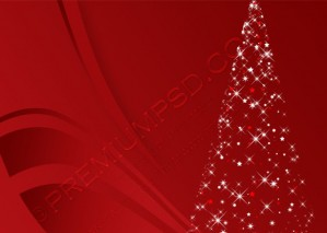 Christmas Tree Background – PSD Download