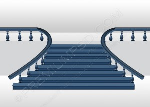 Abstract Background Stairs – PSD Download