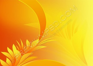 Abstract Floral Background – PSD Download