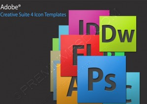 Adobe Creative Suite 4 Icons – PSD Download