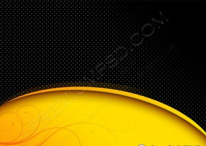 Black And Yellow Background Composition – PSD Download