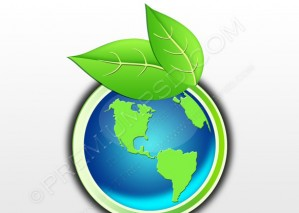Earth Eco Button – PSD Download