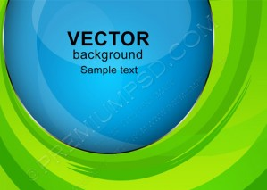 Green Helix Vector Abstract – PSd Download