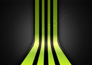 Lime Green Stripes on Gray Mesh Background – PSD Download