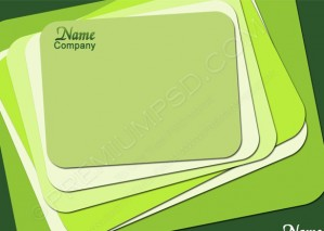 Vector Green Abstract Background – PSD Download