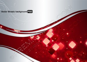 Vector Mosaic Background – PSD Download