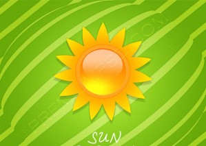 Vector Sun Background – PSD Download