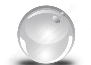 3d Sphere Vector Icon – PSD Download