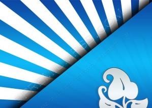 Abstract Blue Design Background – PSD Download