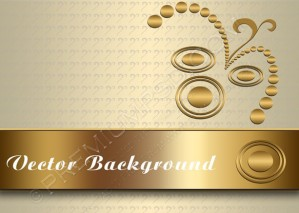 Abstract Gold Background – PSD Download
