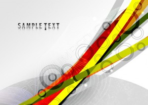 Colorful Vector Lines Abstract Background – PSD Download