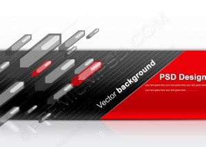 Red And Black Abstract Background For Design – PSD Download