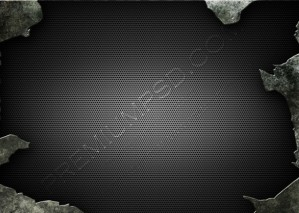 Cracked Metallic Background – PSD Download