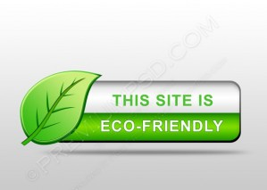 Eco Friendly Website Icon – PSD Download