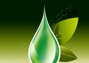 Ecology Design Element Vector – PSD Download