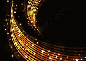 Gold Stylish Fantasy Background – PSD Download
