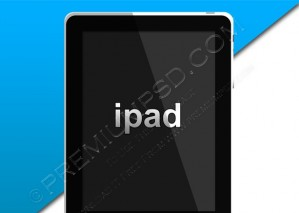 iPad Icon – PSD Download