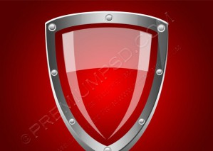Security Shield Symbol Icon – PSD Download