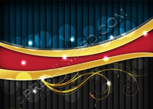 Shiny Vector Illustration Background – PSD Download
