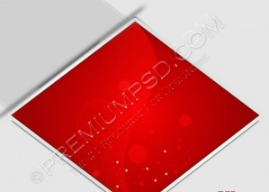 Red Single Square Abstract Background – PSD Download