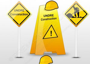 Under Construction Items Set – PSD Download
