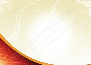 Vector Floral Background – PSD Download