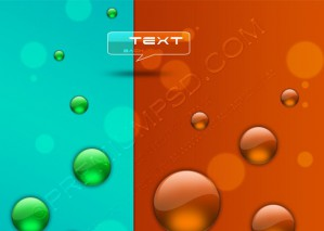 Vector Glass Shapes Background – PSD Download