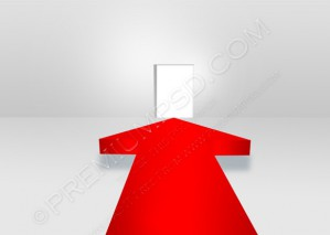 3D Arrows Conception of Success – PSD Download