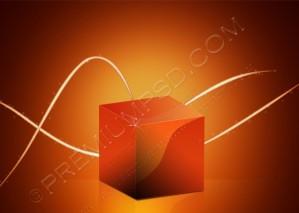 Abstract Iines Background And Box – PSD Download