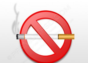 No Smoking Sign Icon – PSD Download