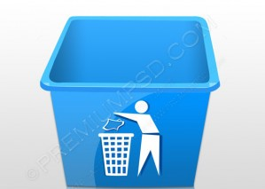 Recycling Trash Tub – PSD Doownload