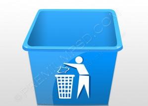 Recycling Trash Tub – PSD Doownload