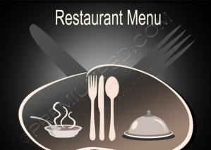 Restaurant Menu Vintage Design – PSD Download