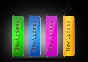 Stylish Beautiful Colorful Web Buttons – PSD Download