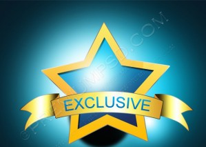 Stylish Exclusive Blue Icon – PSD Download