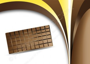 Vector Chocolate Background – PSD Download
