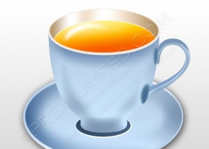 Vector Tea Cups – PSD Download