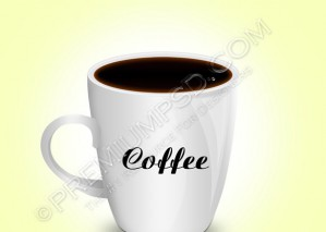 Coffee Cup Vector – PSD Download