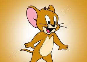 Jerry Mouse Vector Cartoon – PNG Download