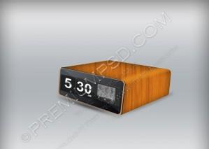 Retro Clock Vector – PSD Download